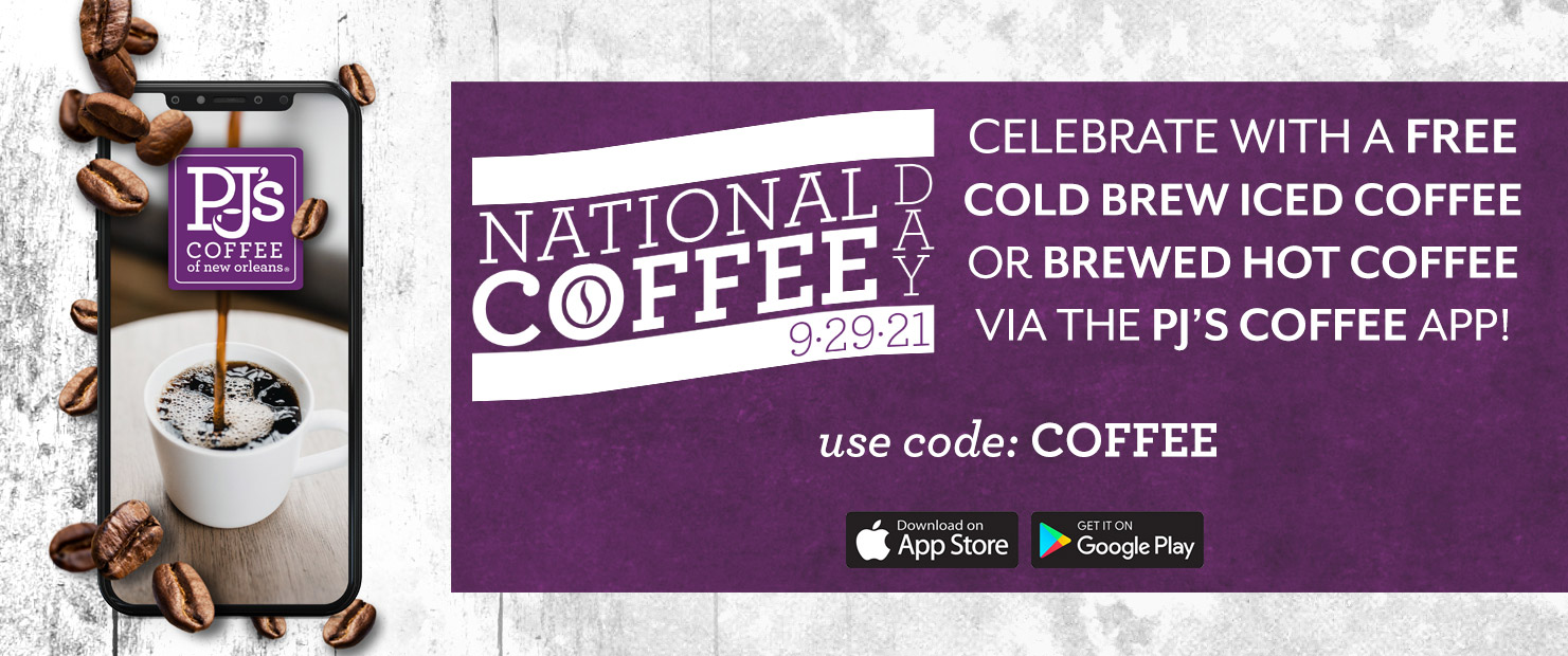 National Coffee Day.
