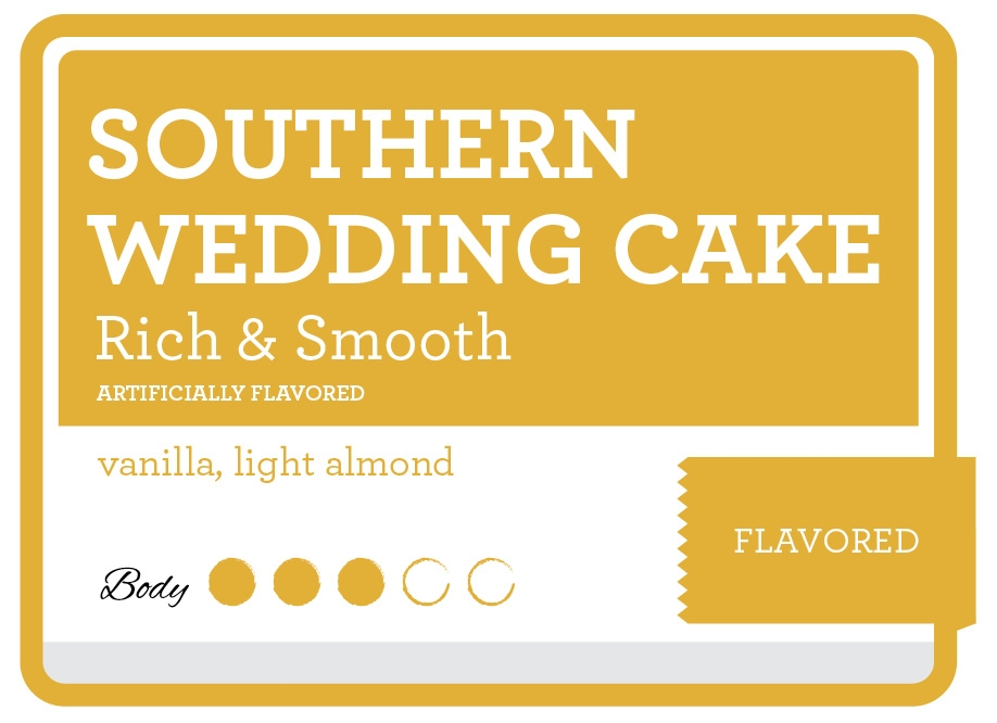 Southern Wedding Cake Coffee