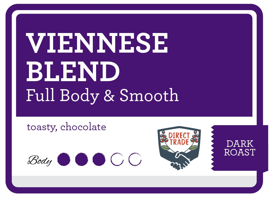 Viennese Blend Product Label