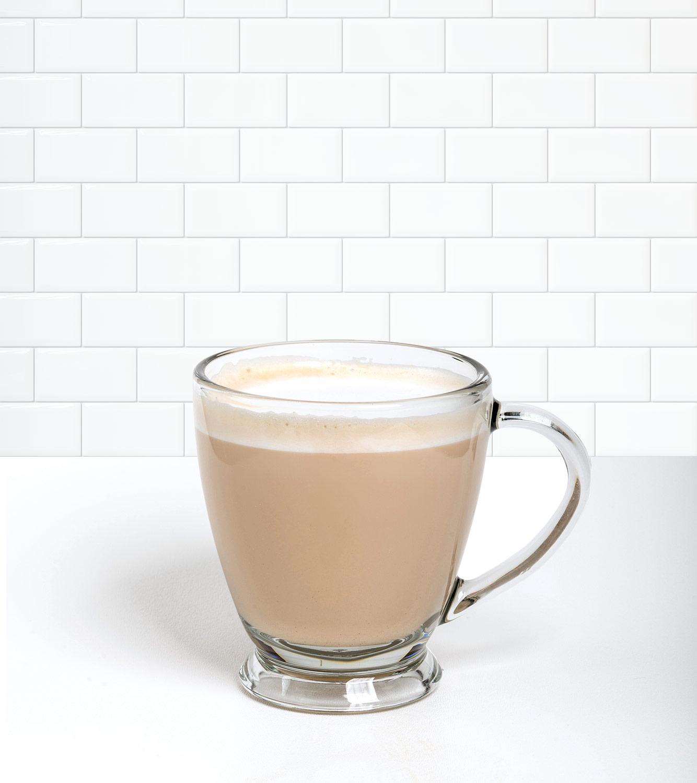 Café Latte in a beverage container