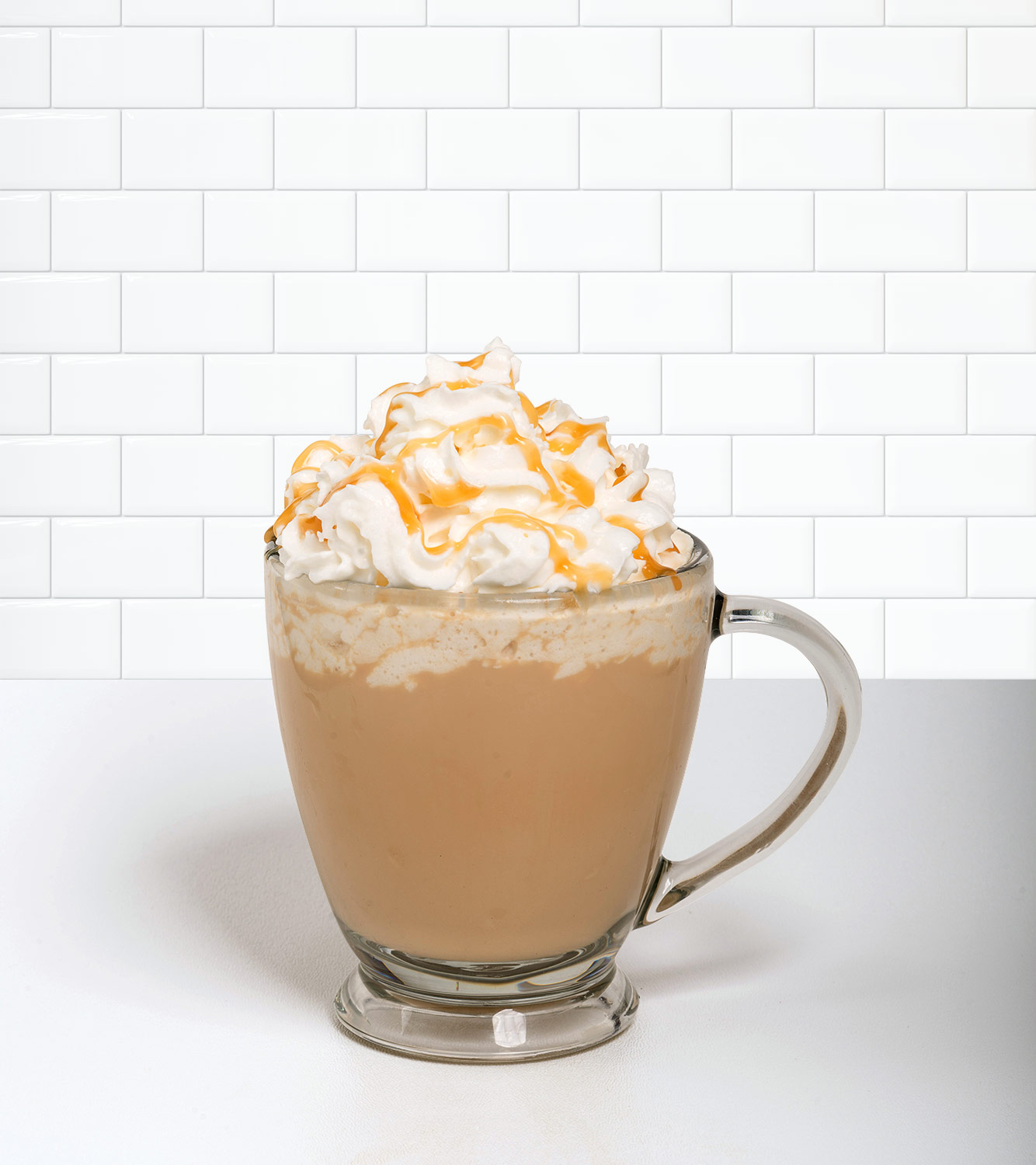 Caramel Créme in a beverage container