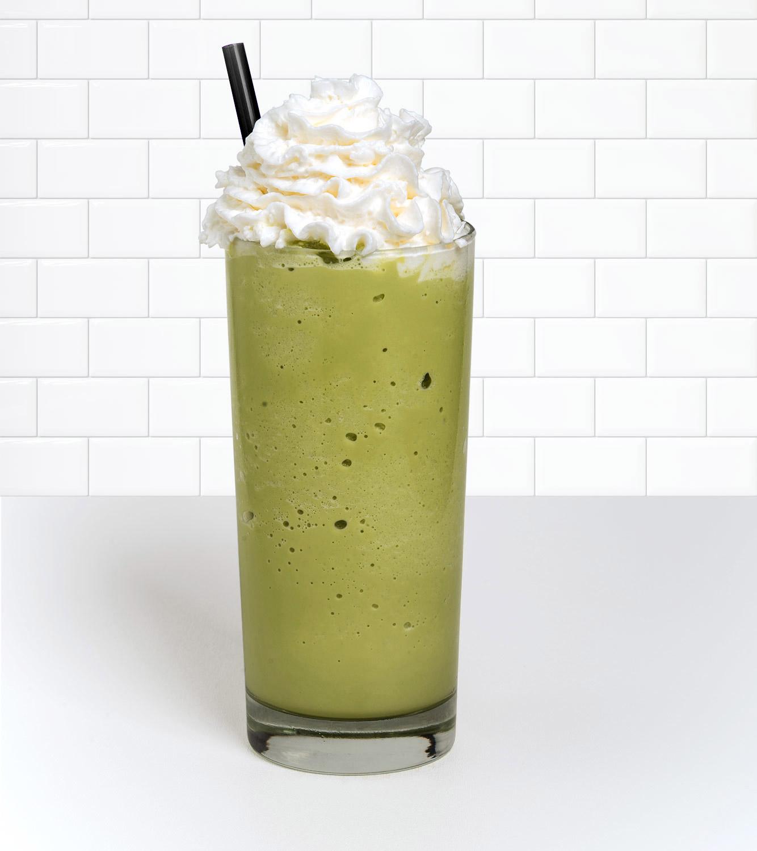 Green Tea Velvet Ice Menu Item