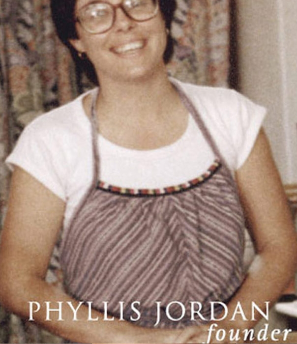 Phyllis Jordan pictured in aged photo