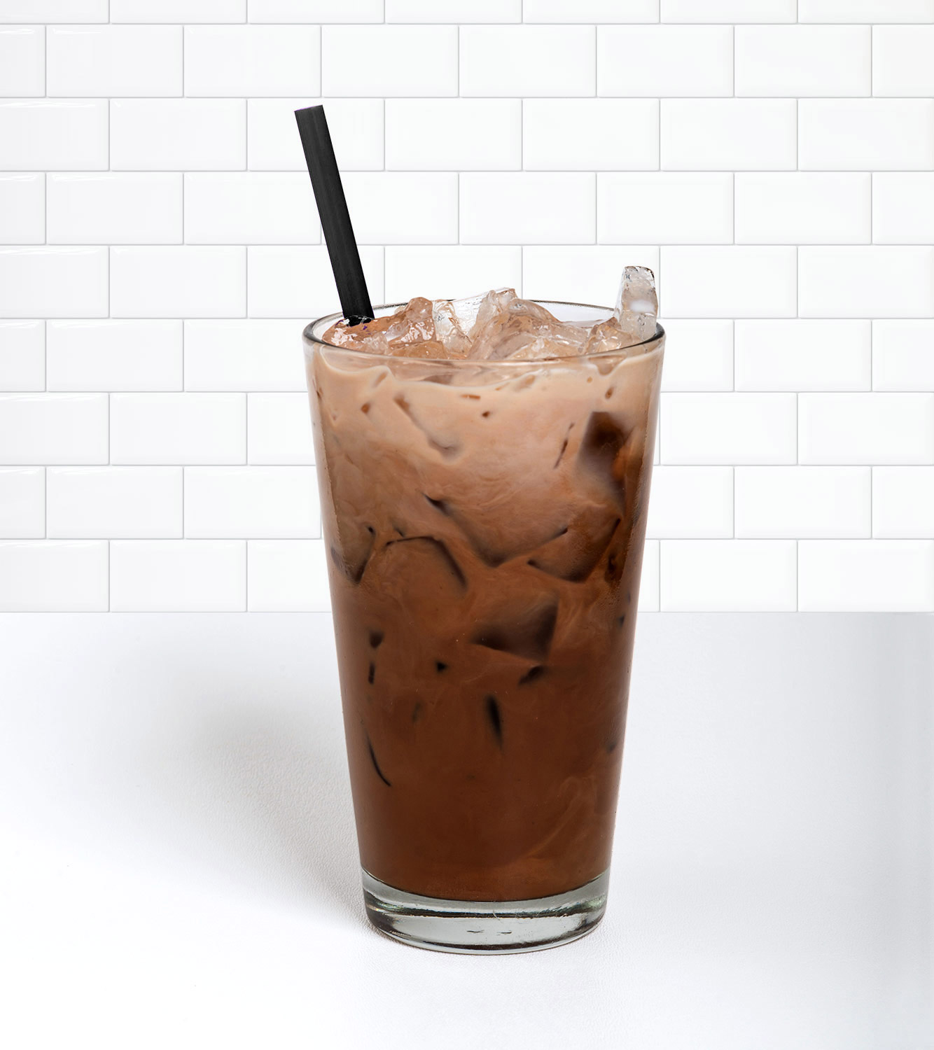 Iced Mocha in a beverage container