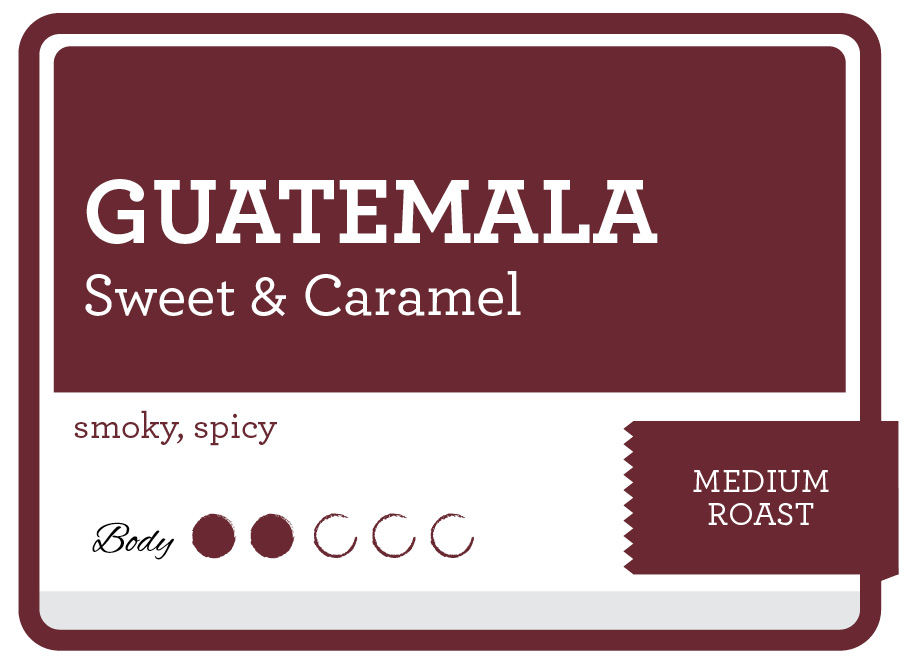 Guatemala Antigua Product Label
