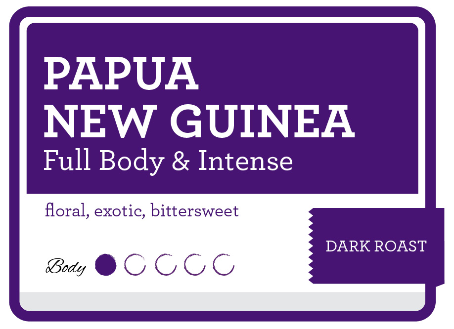 Papua New Guinea Product Label