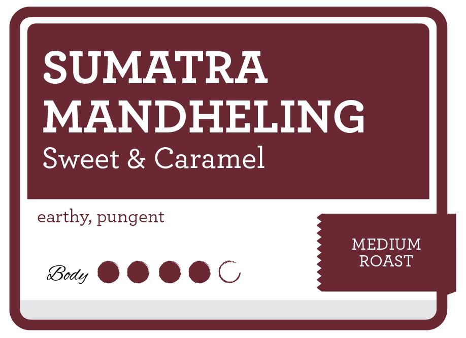 Sumatra Mandheling Product Label