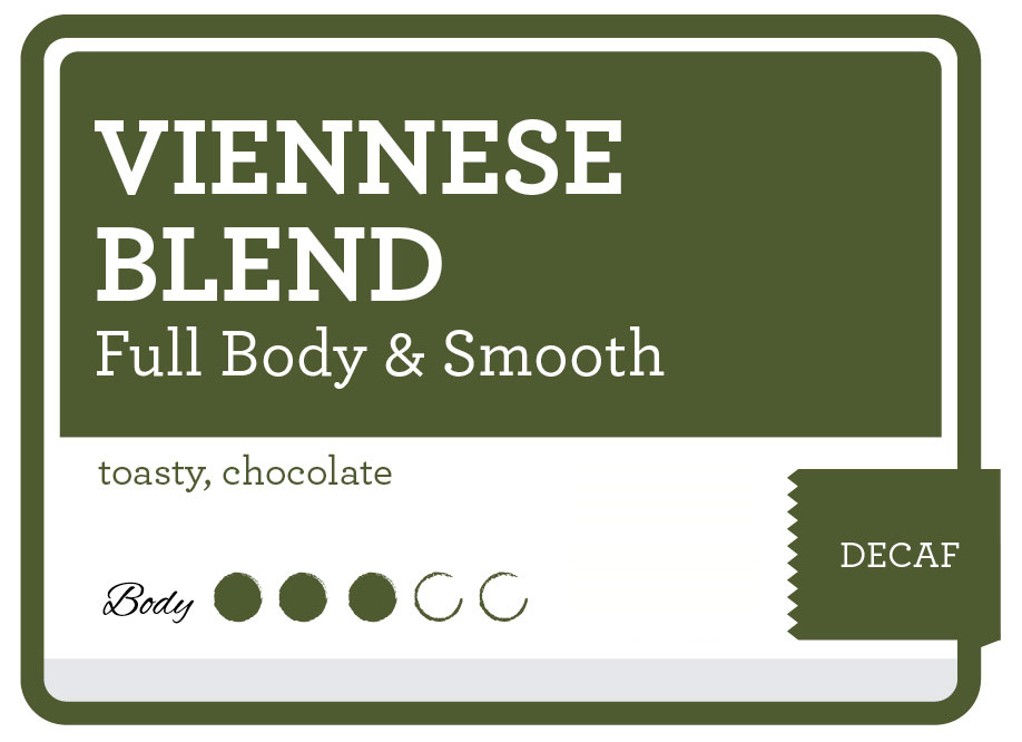 Decaf Viennese Blend Coffee