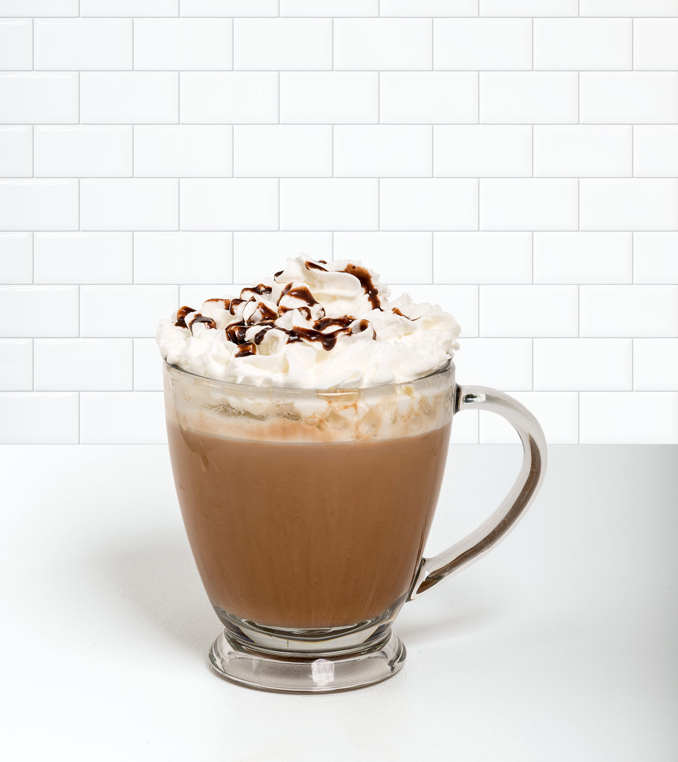 Mocha Latte in a beverage container