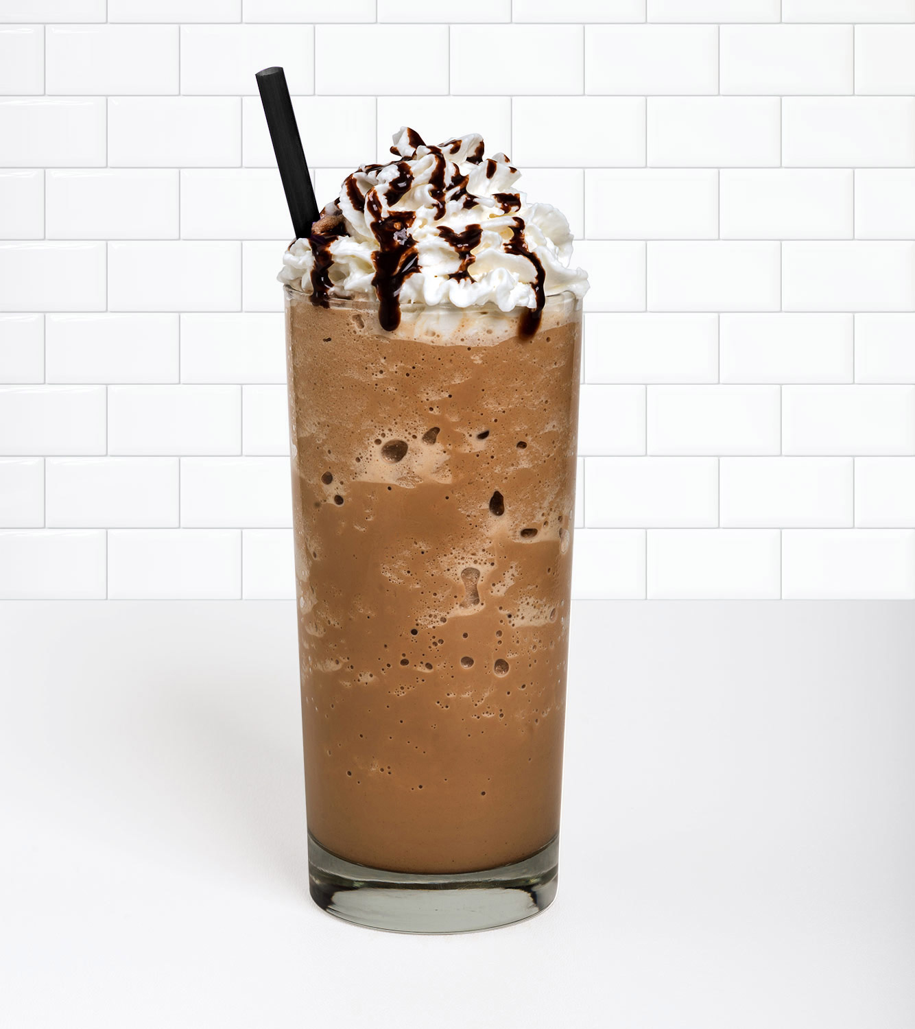 Mocha Velvet Ice in a beverage container