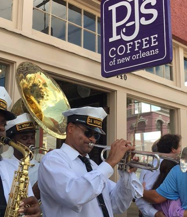 PJ's Coffee store opening in the French Quarter